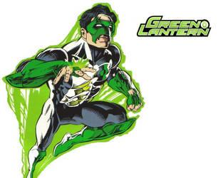 Green Lantern Wallpaper by flozzilla