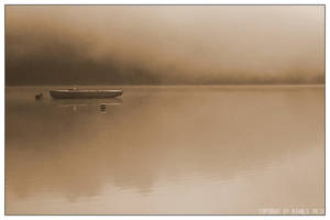 - Boat in the fog - by Czoperek