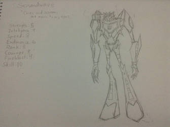 TFI: Soundwave (WIP) by warriorsofskaro1010