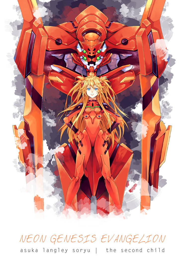 Neon Genesis Evangelion - Asuka Langley Soryu by Hodremlin