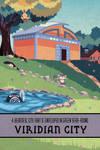 Pokemon Travel Poster - Viridian City by Hodremlin