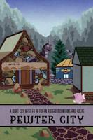 Pokemon Travel Poster - Pewter City by Hodremlin
