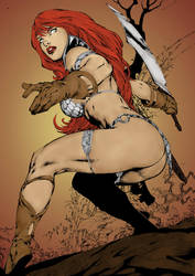 Red Sonja by golden04