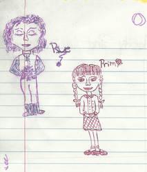 Prim and Rue by EllaMinnoP