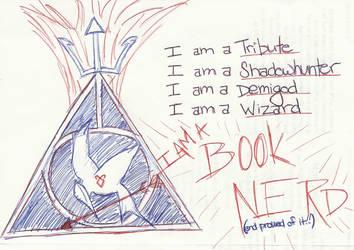 I AM A BOOK NERD 1 by EllaMinnoP