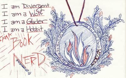 I AM A BOOK NERD 2 by EllaMinnoP