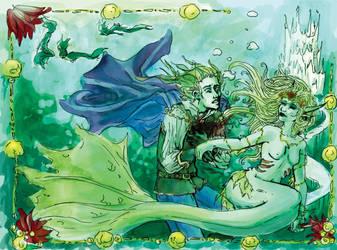 Murderous Mermaid by aecr