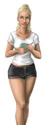 waitress sookie by aecr