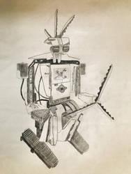Robot dreams by ariya-sacca