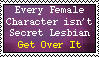 WTF Secret Lesbian by Sooraya-in-a-Hat