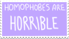 Homophobes Are Horrible by Gay-Mage-Of-Space