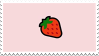 Simple Strawberry Stamp by Gay-Mage-Of-Space