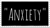 ''Anxiety'' Stamp by Gay-Mage-Of-Space