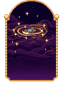 Pixel - Golden Galaxy BG by firstfear