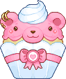 Pixel - Bearby Cupcake by firstfear