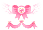 Vector - Lots of Love'n'Ribbon by firstfear