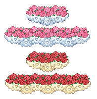 Plz - Rose'n'Lace Divider by firstfear
