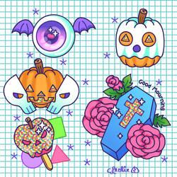 Vector - Halloween Flash 2 by firstfear