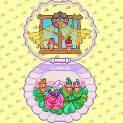 Pixel - FairyWinkles Shell by firstfear