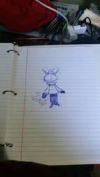 yay! I finally did it! I drew rooney! by jaxtheheathen
