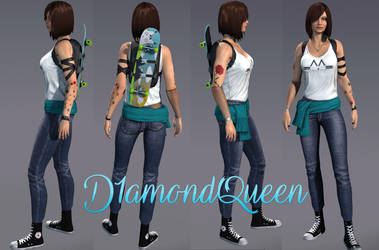 APB Reloaded - PC - Character D1amondQueen by JackXan