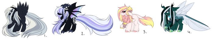 Ranged MLP Detailed Adoptions 2.0 :SP: [Open] SALE by InspiredPixels
