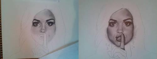 Lucy Hale Progression by MXSAVN31