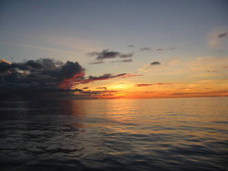 Sky+Sea+Sunset Stock 1 by Toushi-Kun