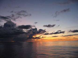 Sky+Sea+Sunset Stock 2 by Toushi-Kun