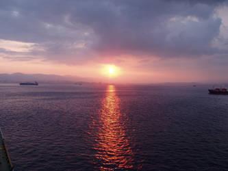 Sky+Sea+Sunset Stock 4 by Toushi-Kun