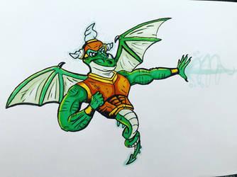 Dragon Genie by tombola1993