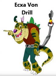 Exca Von Drill by tombola1993
