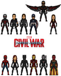 Cap Civil War by doctorstrange7