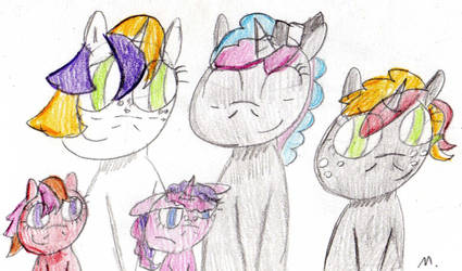 Next Next Gen: Pomme And Bow Family by ptitemouette
