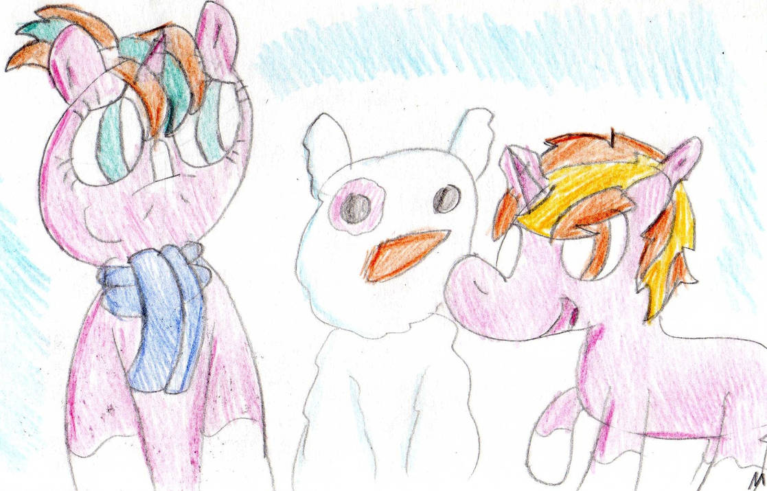 Do You Want To Build A Snowpony by ptitemouette