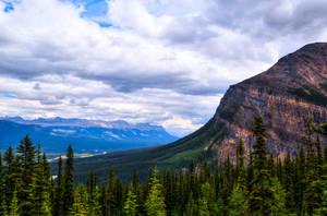 Lois Lake Mountains by Qels