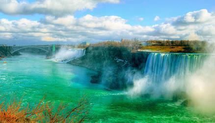Niagara Falls 5 by Qels