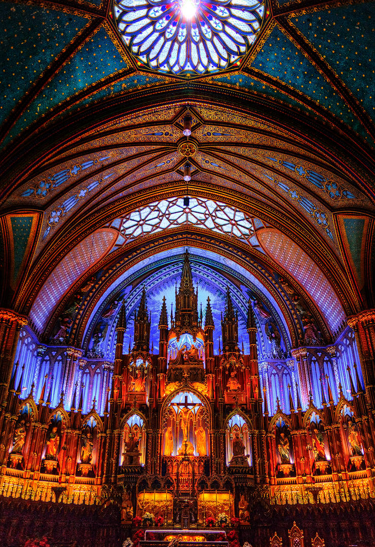 notre dame basilica by Qels