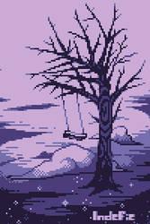 space tree by Indefie