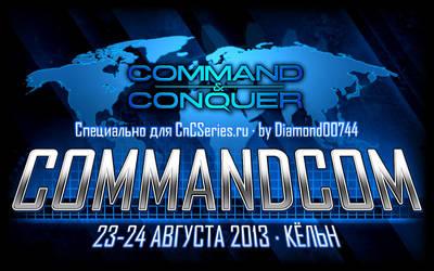 CommandCom 2013 Logotype by Diamond00744