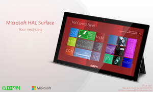 Microsoft HAL 9000 Surface by Diamond00744