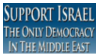 Stamp Support Israel Democracy by Zionist-4-Ever