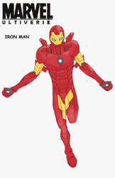 Ultiverse Iron Man (updated) by FakeRobin99