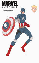 Ultiverse Captain America by FakeRobin99