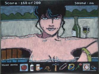 Eve on black velvet by Clockworkalien