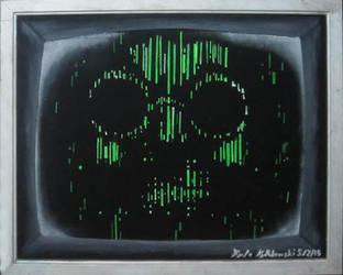 MCU: Arnim Zola on black velvet by Clockworkalien