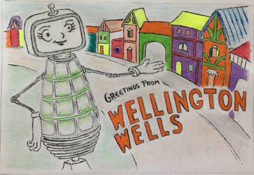We Happy Few Postcard Contest by Clockworkalien