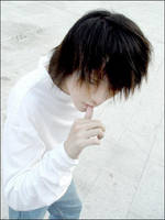 Death Note Cosplay: L by dontcallmenymphadora