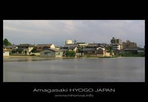 Amagasaki city by Lou-NihonWa