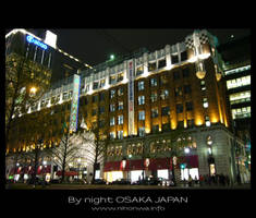 Osaka by night -2- by Lou-NihonWa